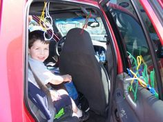 Bring a package of pipe cleaners on a road trip to keep kids entertained.