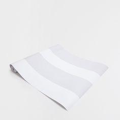 Immagine 1 del prodotto Carta da Parati a righe grigie e bianche