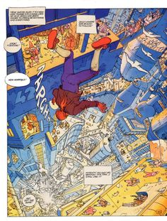 """Jodorowsky and Moebius - The Incal, from feature on Jean """"Moebius"""" Giraud, 1938-2012"""