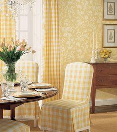 a happy room - love the sunny yellow!