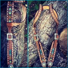 In love with their beaded tack!