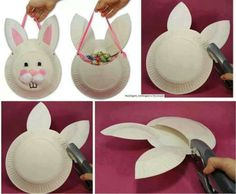 Idea to save money on easter baskets make your own with the kids