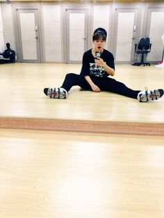 He must be bored ... #Jimin #BangtanBoys
