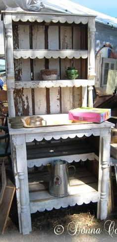Vintage Gal Style: 15 Crafty Potting Bench Designs