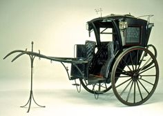 Hansom Cab, Forder and Co. The Long Island Museum of American Art, History, and Carriages. Victorian London, Victorian Era, Horse Drawn Wagon, Horse And Buggy, Horse Gear, Gypsy Wagon, Horse Carriage, Or Antique, Cannon