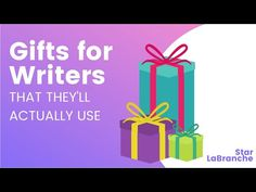 Gifts for Writers (That They Actually Want): 6 Suggestions – Star LaBranche Writers, Author, Stars, Gifts, Presents, Sterne, Authors, Favors, Gift