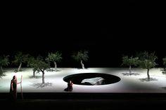 Oedipe. Teatro Lirico. Scenic design by Tim Northam. Pictorial Realizations by Rinaldo Rinaldi. 2005