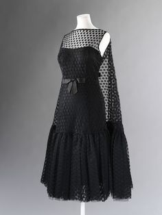 *Currently on display in The Glamour of Italian Fashion 1945 - 2014* Dress, Galitzine, 1955