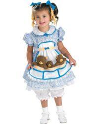Goldilocks (and the three bears) Toddler Halloween Costumes, Halloween Fancy Dress, Baby Costumes, Halloween Kids, Funny Costumes, Halloween Party, Minion Costumes, Disney Costumes, Halloween Stuff