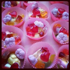 Cupcakes de chuches para tus #eventos