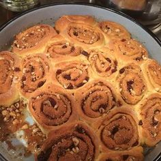 Moist Cinnamon Rolls Cinnamon Bun Recipe, Cinnamon Rolls, Caramel Rolls, Yeast Rolls, Vanilla Pudding Mix, Sticky Buns, Rolls Recipe, Donut Recipes, Pastry Recipes