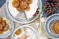 Un Saco de Recetas: Layer cake de higos confitados al oloroso #layercake #tarta #higos #figs #higosconfitados #oloroso #frostingqueso #frostingmascarpone #mascarpone