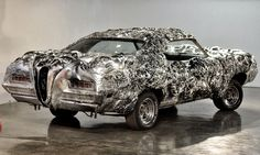The stunning printed Liquid Metal Ford Torino, made by Romanian artist Ioan Florea, will go up for auction on January It will be the first ever printed car to cross an auction block. Ford Torino, Ford Motor Company, Automobile, 3d Printing News, Liquid Metal, Start Ups, Metal Models, Car Engine, Car In The World