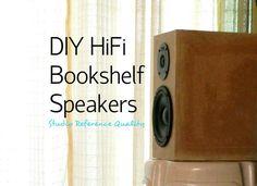 Picture of DIY HiFi Bookshelf Speakers (Studio Reference)