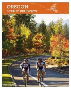 Oregon scenic bikeways, by Travel Oregon