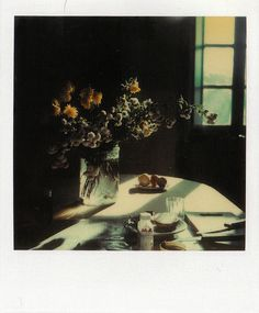Russian filmmaker Andrei Tarkovsky's films — Solaris, Andrei Rublev, and Stalker among them — were renowned for the beauty of their imagery, so it comes as a bit of a surprise to learn that he was an aficionado of the Polaroid camera, a format not… Still Life Photography, Color Photography, Film Photography, Foto Still, Bokashi, Polaroid Pictures, Grafik Design, Filmmaking, Images