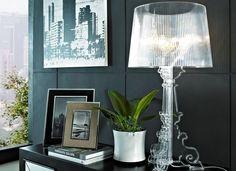 Kartell Bourgie lampada da tavolo in policarbonato trasparente ...