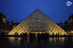 Louvre at night. Amazing! #Paris #France