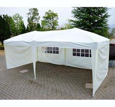 10u0027 x 20u0027 Gazebo Pop-Up Tent with Walls u2013 Cream & 10x30 Party Wedding Outdoor Patio Tent Canopy Heavy duty Gazebo ...