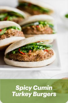 Check out these mouthwatering Cumin Turkey Burgers from Michelle Wong (@siftandsimmer). These buns and patties are all made from scratch and bursting with flavour! Boys Burgers, Turkey Burgers, Yummy Recipes, Yummy Food, Healthy Recipes, Healthy Meal Prep, Healthy Eating, Good Burger, Cookbook Recipes