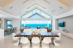 SWA Architects designed BE North Shore with open floor plans to provide stunning views of the entire north shore of Providenciales