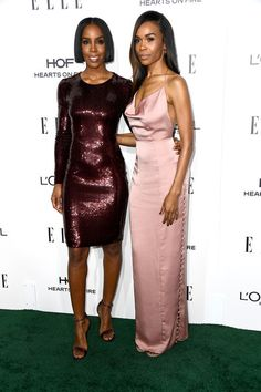 Kelly Rowland and Michelle Williams (in Fame and Partners) - Best Dressed at the 2016 'ELLE' Women in Hollywood Awards - Photos