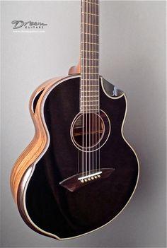 New Yong Blackie JJ - Acoustic Guitar - Monkeypod Top Guitar Chords, Ukulele, Custom Acoustic Guitars, Electric Guitar Lessons, Classical Acoustic Guitar, Metal Songs, Guitar Tutorial, Playing Guitar, Learning Guitar