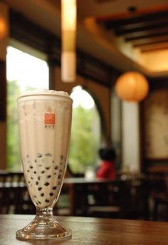 bubble milk tea #Taiwan 珍珠奶茶