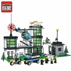 Building blocks city police station series assembling building blocks plastic educational boys toy Compatible with Lepin figure #clothing,#shoes,#jewelry,#women,#men,#hats,#watches,#belts,#fashion,#style