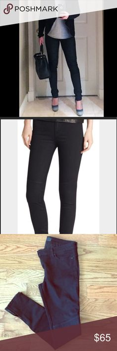 Vince Vince moto black skinny jeans in size 30 very flattering fit in great condition Vince Jeans Skinny