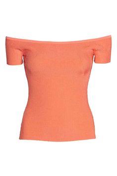 Camisola de ombros descobertos | H&M