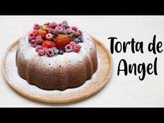 TORTA DE ANGEL - YouTube Torta Angel, Natural Yogurt, Pan Dulce, Cheesecake, Cupcakes, Make It Yourself, Baking, Desserts, Youtube