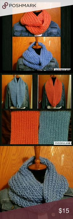 """🔸NEW ARRIVAL🔸NWOT - INFINITY SCARF (SET) 🔴PRICE IS FIRM🔴 PERFECT GIFT! 🎄🎁This WARM & COZY INFINITY SCARF SET is BRAND NEW and is SOFT & WARM!  😄 You get TWO FOR THE PRICE OF ONE!  Can you say """"CHA-CHING""""?!  💵 Accessories Scarves & Wraps"""