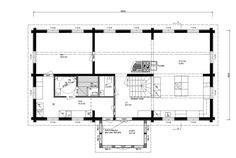 Pohjalaistalo 3, 118m2+114m2 | Rakennus Luoma Oy Floor Plans, Diagram, Home, Ad Home, Homes, Haus, Floor Plan Drawing, House Floor Plans, Houses