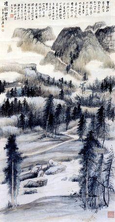 Чжан Дэцян Картинная Галерея | Музей Китая Онлайн