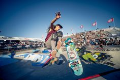 The number of female skateboarders has grown in recent years. But pro female skaters still see inequalities in pay and sponsorship opportunities in comparison to their male counterparts. Skater Girl Style, Skater Girls, Skateboard Outfits, Women In History, Way Of Life, Female Athletes, Girls Be Like, Ladies Dress Design, Powerful Women