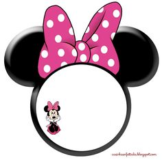convite aniversario minnie orelhinha para imprimir grátis Minnie Mouse Template, Bolo Da Minnie Mouse, Minnie Mouse Stickers, Mickey Mouse Parties, Mickey Party, Hasbro My Little Pony, Minnie Birthday, Disney Scrapbook, Birthday Party Decorations