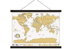 Pentru infrumusetarea peretilor, se intampla sa petrecem timp indelungat in cautarea celor mai potrivite decoratiuni. Insa, din pacate, de foarte multe ori, ramele estompeaza efectul operelor expuse. Hang! poate fi folosita ca o alternativa minimalista si moderna la ramele clasice. Ramen, Mai, Vintage World Maps