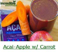 Acai Berry Smoothie Recipes and Nutrition