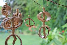 Science & Design for Kids: Bird feeder mobile