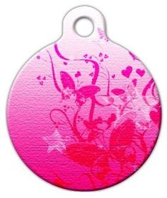 Pinky  Custom Pet ID Tag for Dogs and Cats  Dog Tag Art  SMALL SIZE *** You can get more details by clicking on the image.