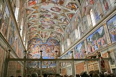 Sistine Chapel - Inside the Vatican - Rome/Vatican City, Italy.