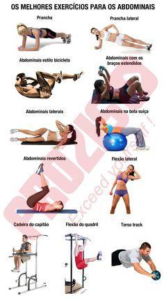 Quais são os melhores exercícios para os abdominais? - Logon Prozis