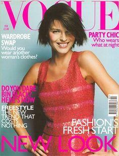 Eva Herzigova, Vogue UK, February 1999