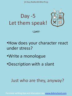 Day -5 Let them Speak!