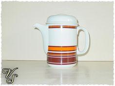Thomas Germany - 70er - Kaffeekanne - Teekanne. Von vintageschippie bei DaWanda.