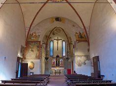 ☧Milan: Interior of the Church of San Bernardino alle Monache
