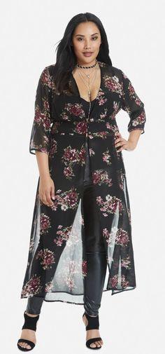Plus Size Maxi Shirt