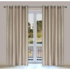 LJ Home Silkana window panels (set of 2) | Wayfair