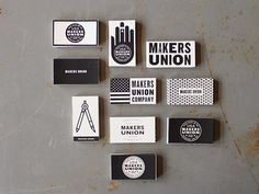 Good design makes me happy: Project Love: Makers Union Business Cards